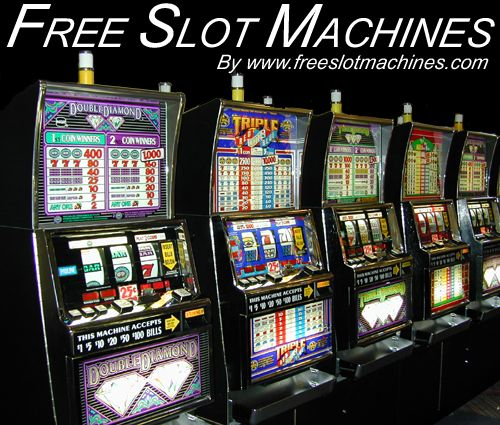 slot machines online gaming